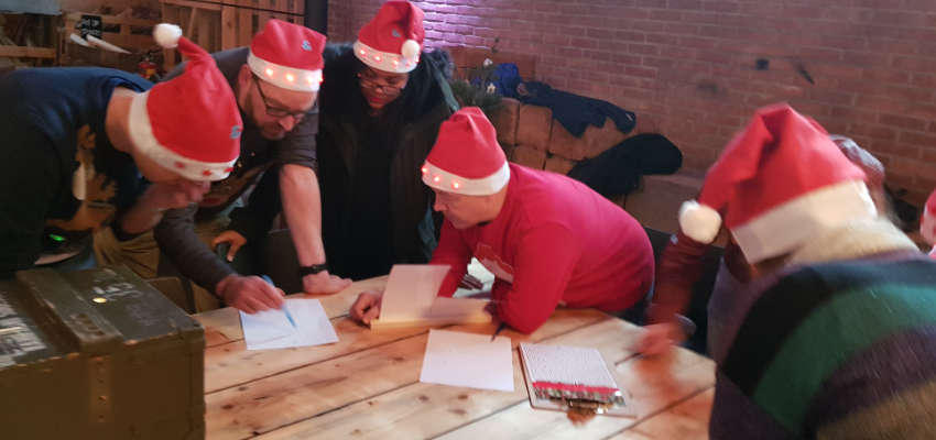 Fort X-mas Challenge Uitermeer escape room